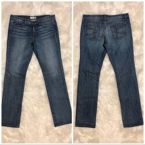 David Kahn NWOT Mykanos 17028 Straight Jeans